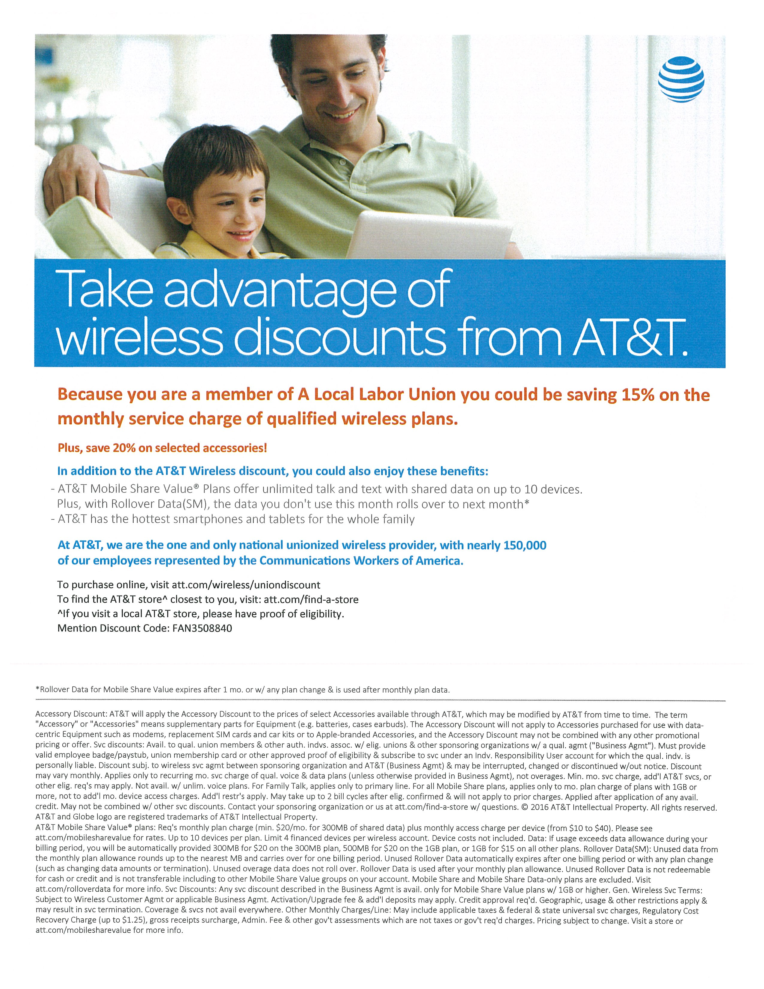 AT&T Union Discount