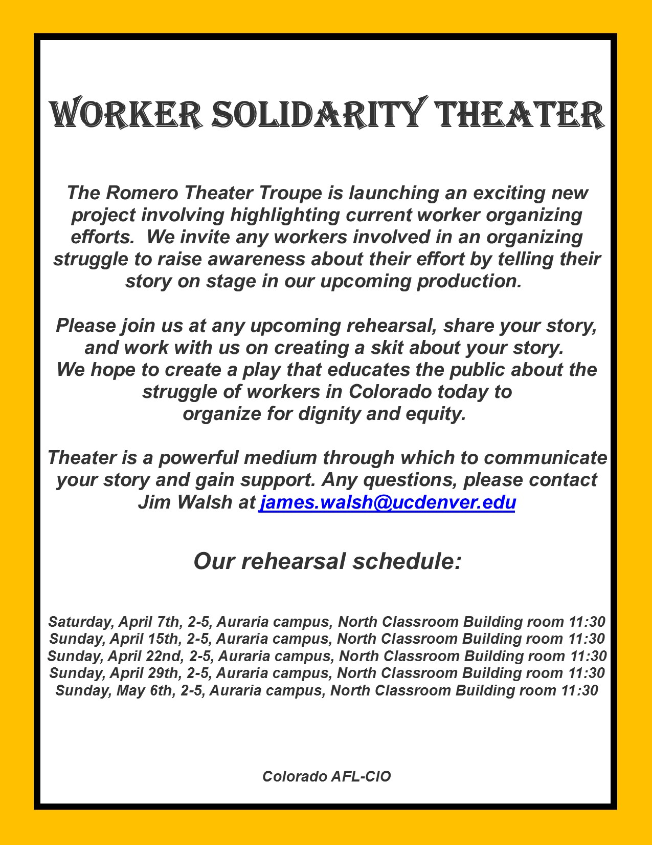 Worker Solidarity Theater