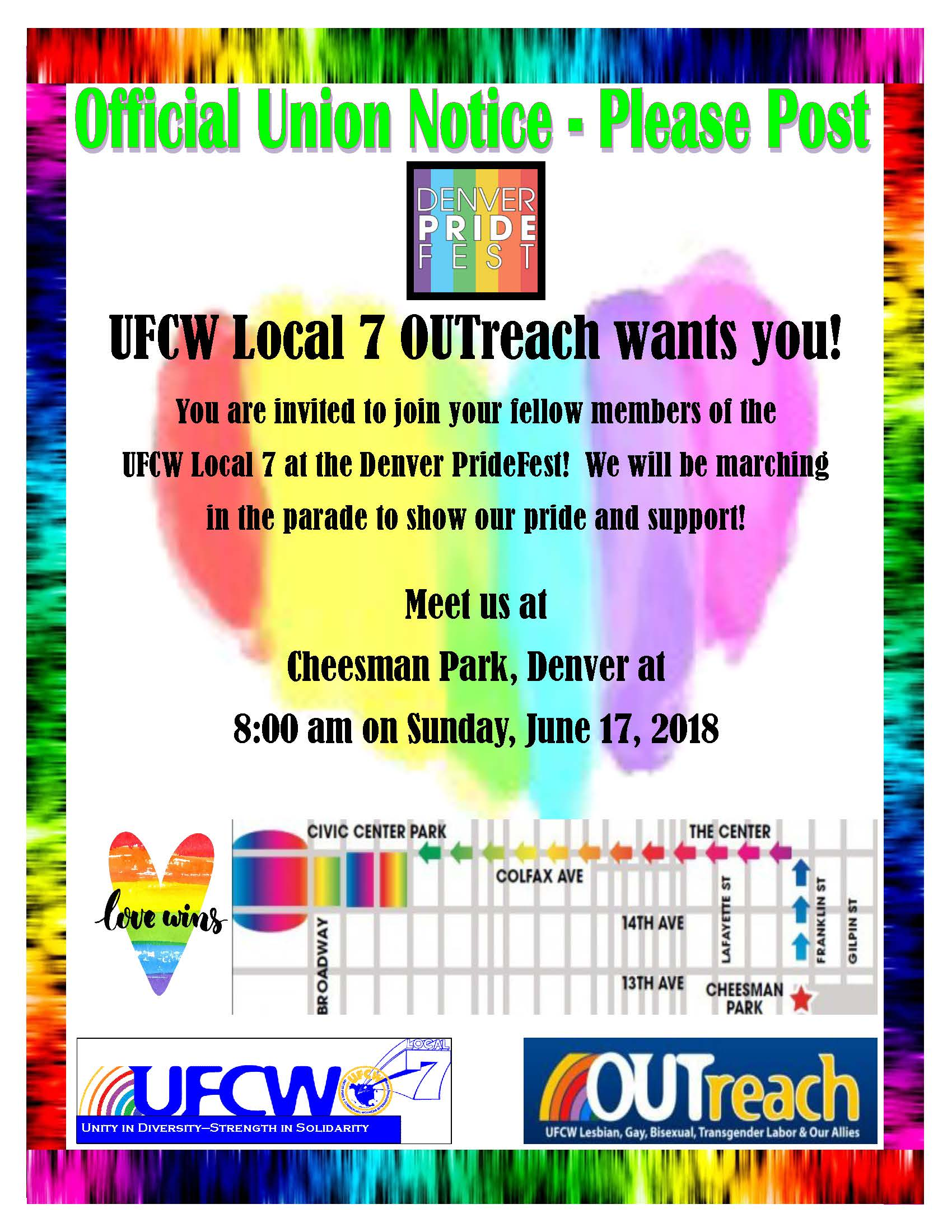 OUTreach – Join Us at the Denver PrideFest!