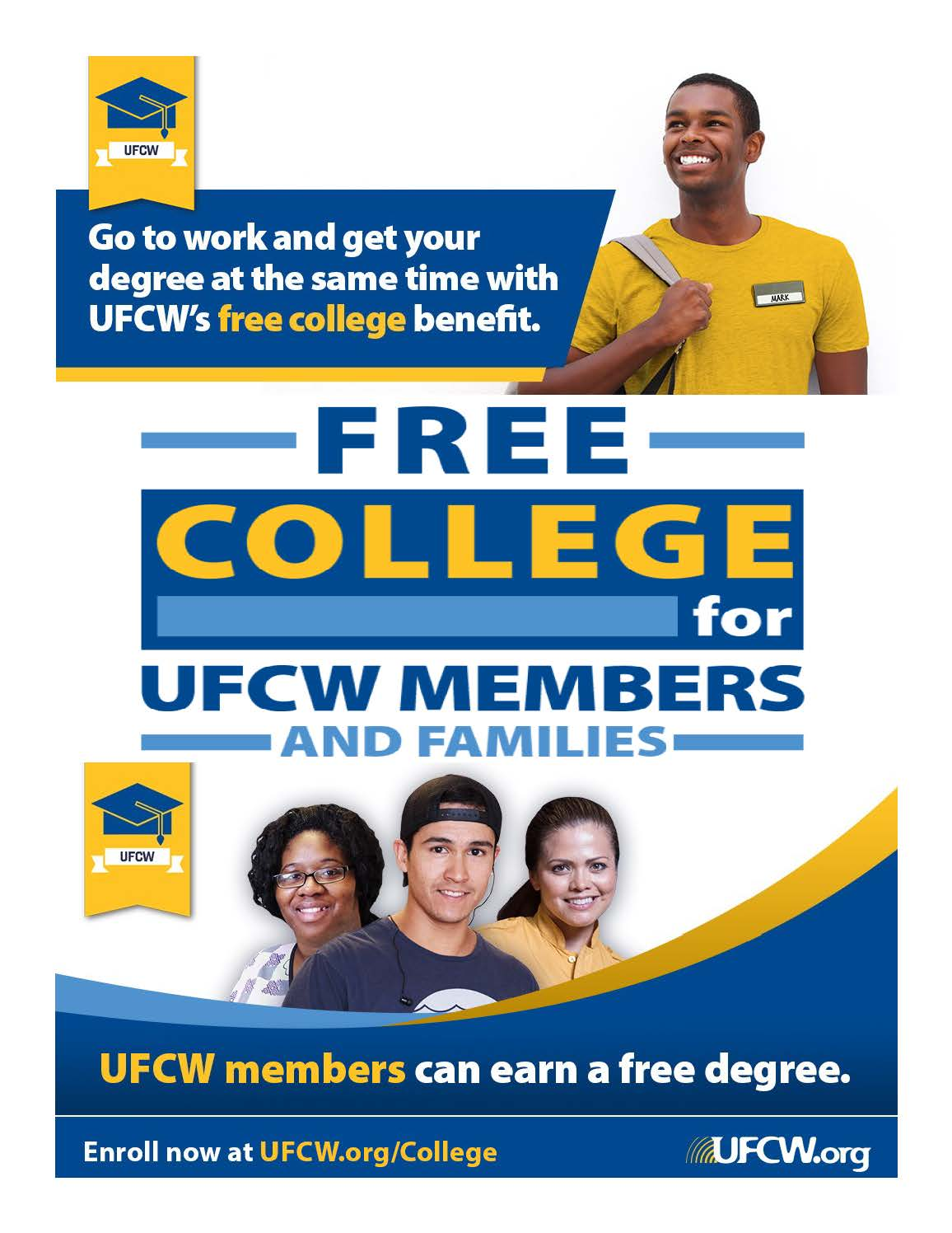 UFCW Free College Benefit | UFCW Local 7