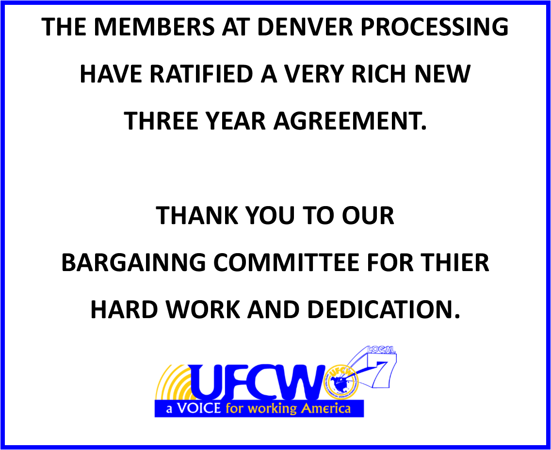 Updates | UFCW Local 7 | The official website for the United
