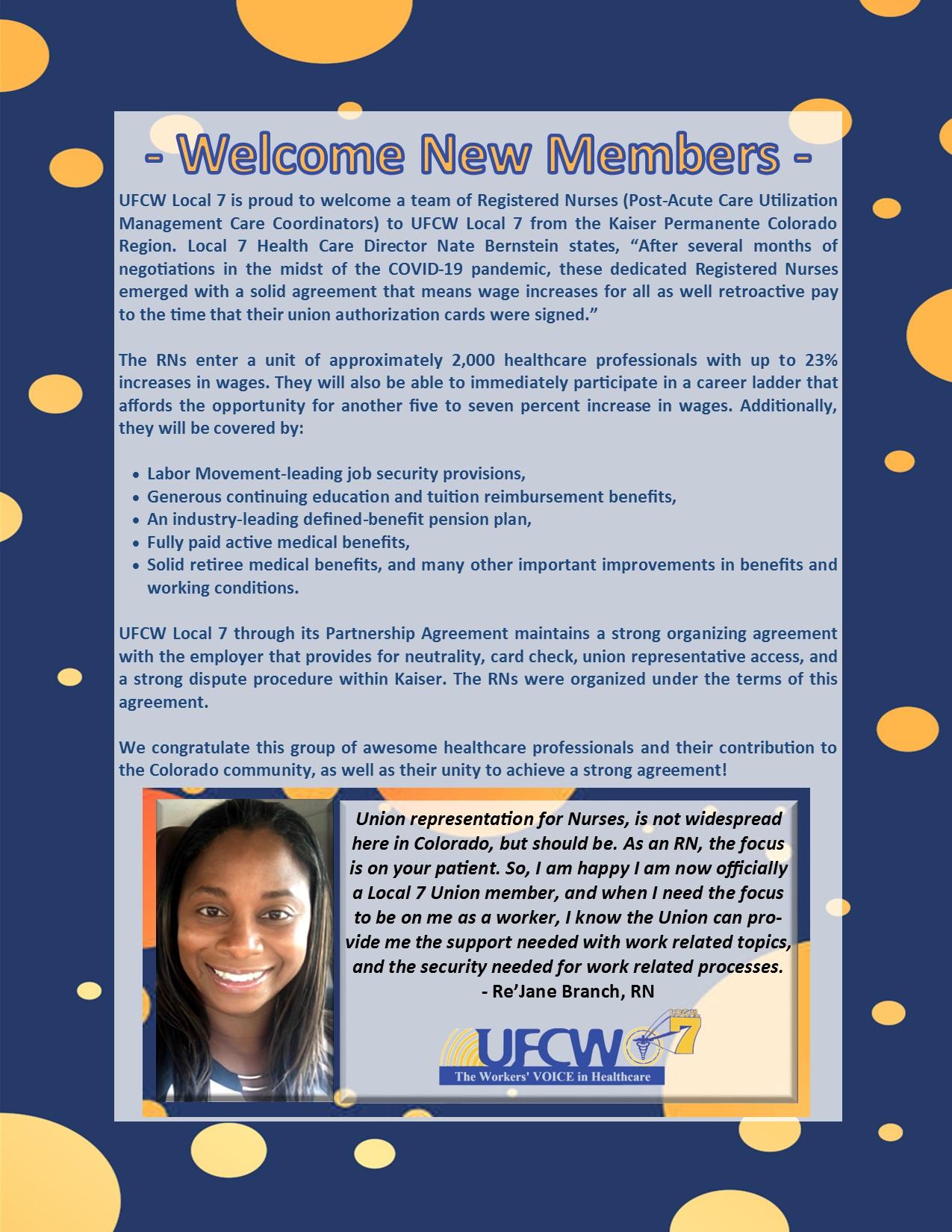 Welcome New KP Members!
