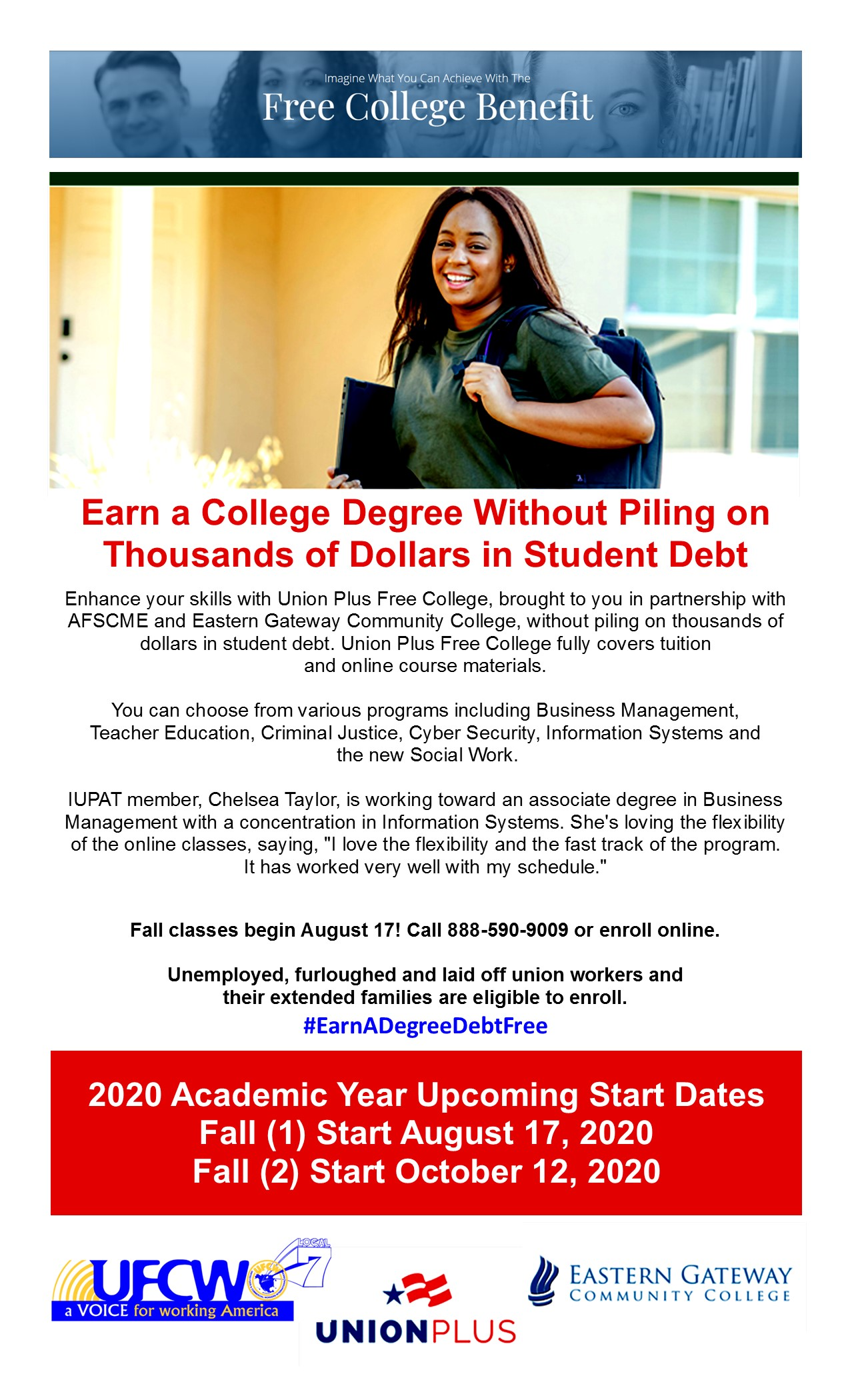 Free College Benefit!