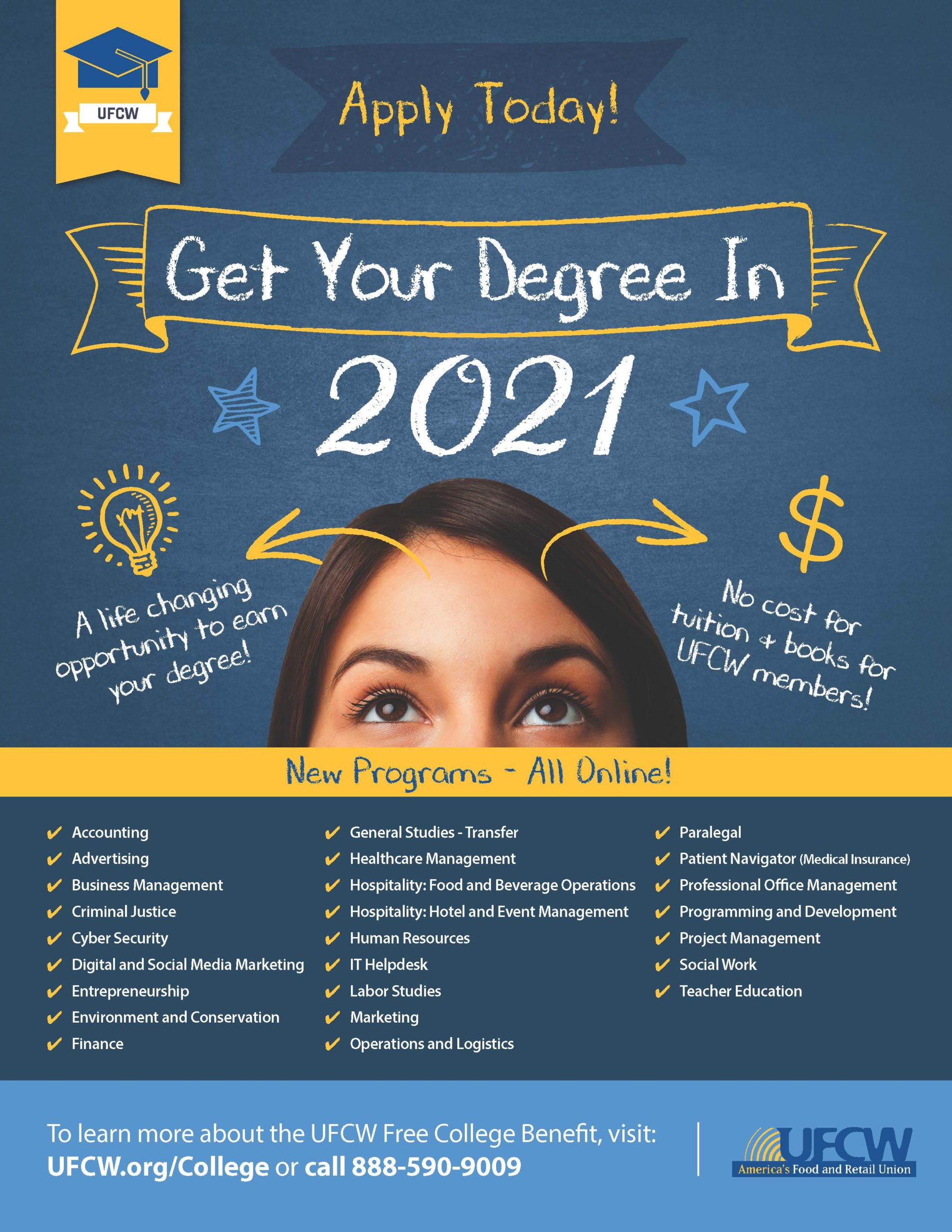 2021 Free College Benefit!