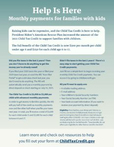 Childcare Tax Credit Awareness